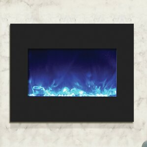Elegant Zero Clearance Wall Mounted Electric Fireplace