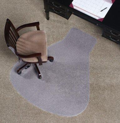 Workstation Medium Plush Carpet Chair Mat & ES Robbins Workstation Medium Plush Carpet Chair Mat u0026 Reviews | Wayfair