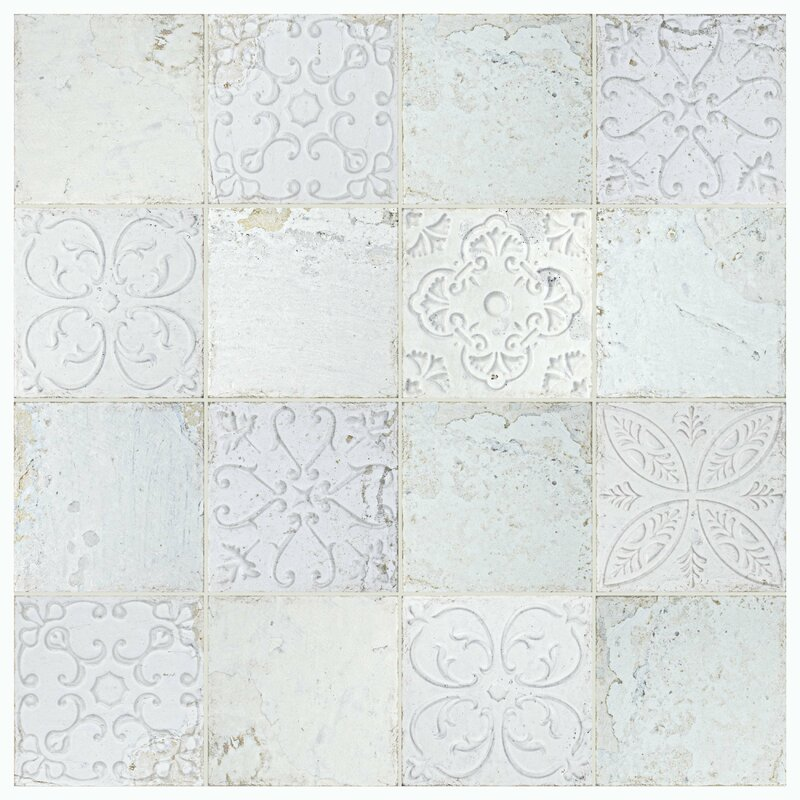 Aevit 7 88 Quot X 7 88 Quot Ceramic Field Tile In White Joss Amp Main