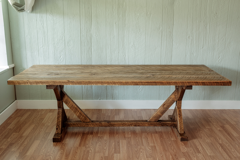 Millwood Pines Mitzi Reclaimed Wood 30 Dining Table Reviews Wayfair