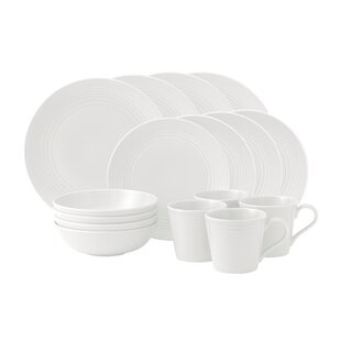 Save  sc 1 st  Wayfair & Stoneware White Dinnerware Sets Youu0027ll Love | Wayfair