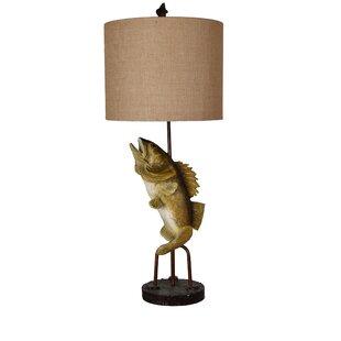 Captivating Chavez Fly Fish 39u0027u0027 Table Lamp
