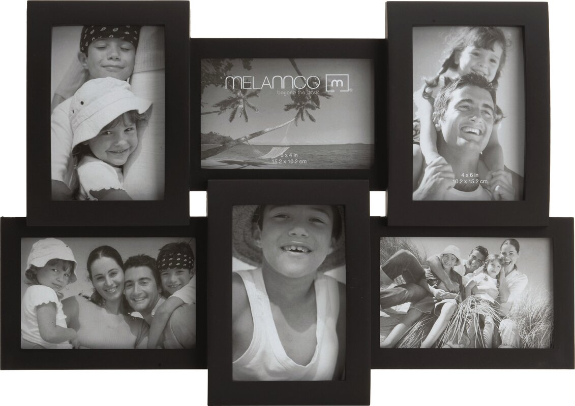Charlton home 6 opening collage frame reviews wayfair 6 opening collage frame jeuxipadfo Image collections