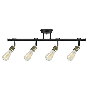 Track lighting youll love wayfair rennes 4 light track kit aloadofball Image collections