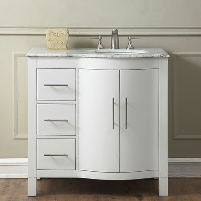 19 Inch Depth Bathroom Vanity | Wayfair