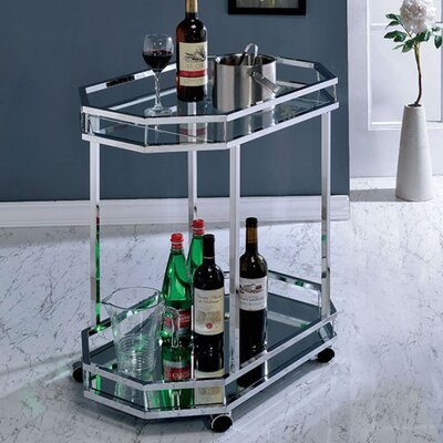 Graef Contemporary Bar Cart Latitude Run