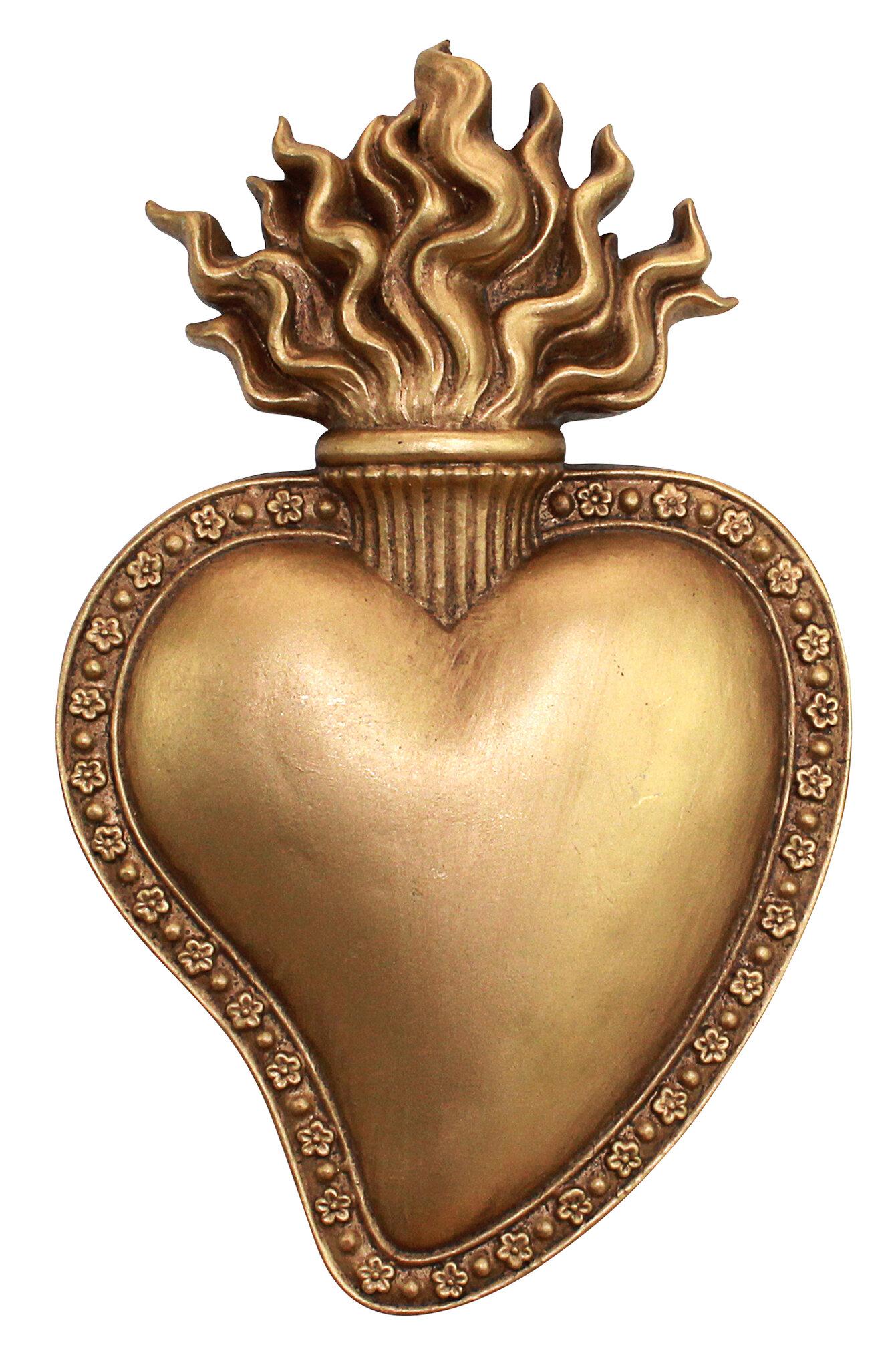 Design Toscano Most Sacred Heart of Jesus Wall Décor & Reviews | Wayfair