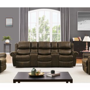 Superieur Reclining Sofa With Cup Holder | Wayfair