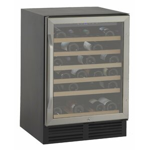50 Bottle Single Zone Built-In Wine Cooler by Avanti Products