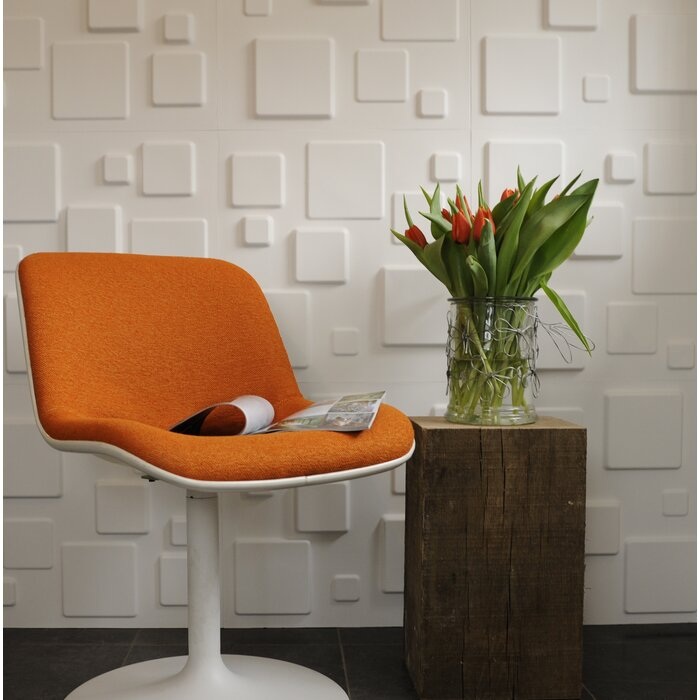 Squares 3D Decorative Wall Panels