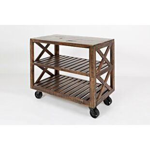 Mattapoisett Trolley Bar Cart