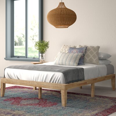 Solid Base Platform Bed Wayfair