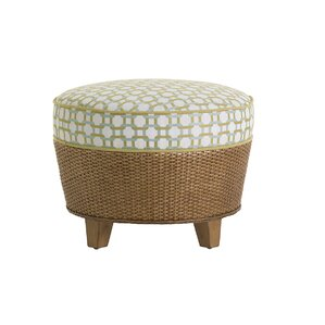 Twin Palms Lago Mar Ottoman by Tommy Bahama Home