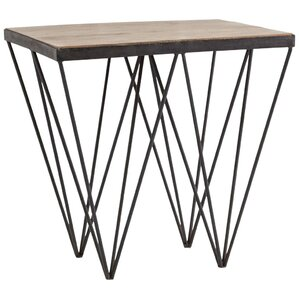 Epicurus End Table by Mercury Row