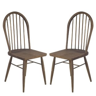 Isolda Solid Wood Dining Chair (Set of 2)