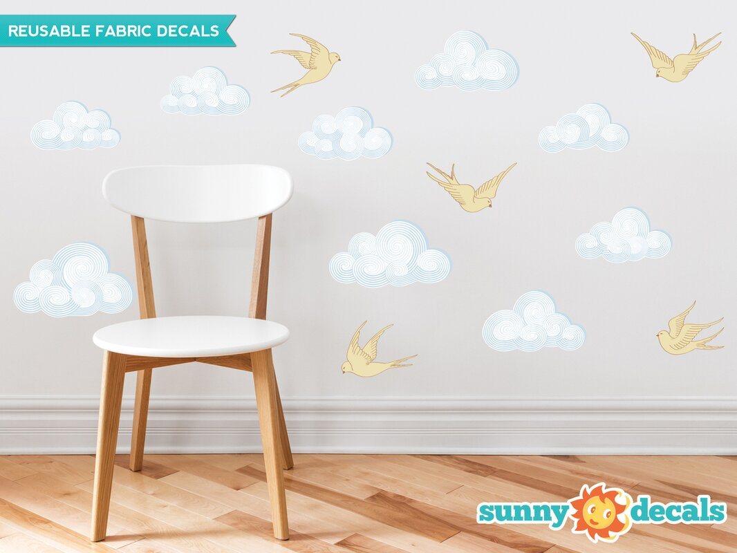 Modern Cloud Wall Decal