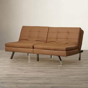 Devonte Foldable Convertible Sofa by Wade Logan