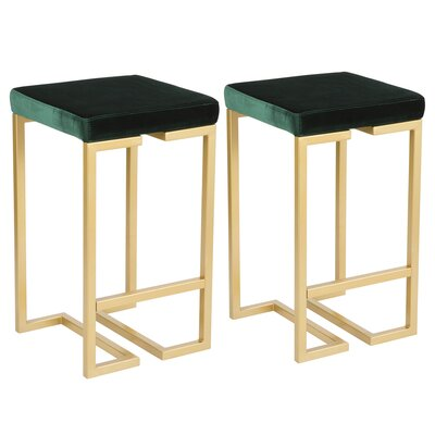Modern Gold Bar Counter Stools