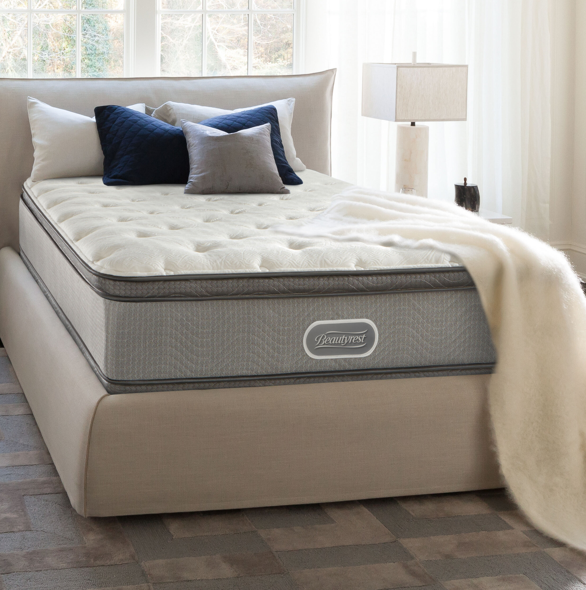 Simmons Beautyrest Beautyrest 12 Medium Pillow Top Mattress And Box