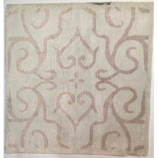 Hand Knotted Light Pink Area Rug