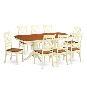 Napoleon 9 Piece Dining Set by Wooden Imp..