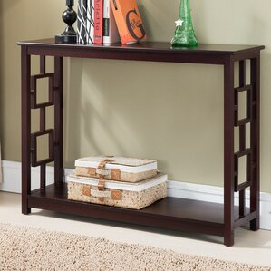... Designs Low Console Table