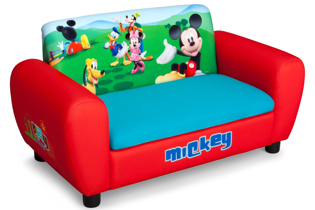 Delta Children Disney Mickey Mouse Kids Sofa Amp Reviews