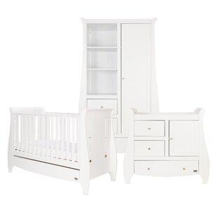 Katie Cot Bed 3 Piece Nursery Furniture Set