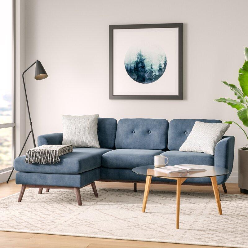 wholesale dealer 9a59f 14f8c Brayden Studio Vara Sectional   Reviews   Wayfair