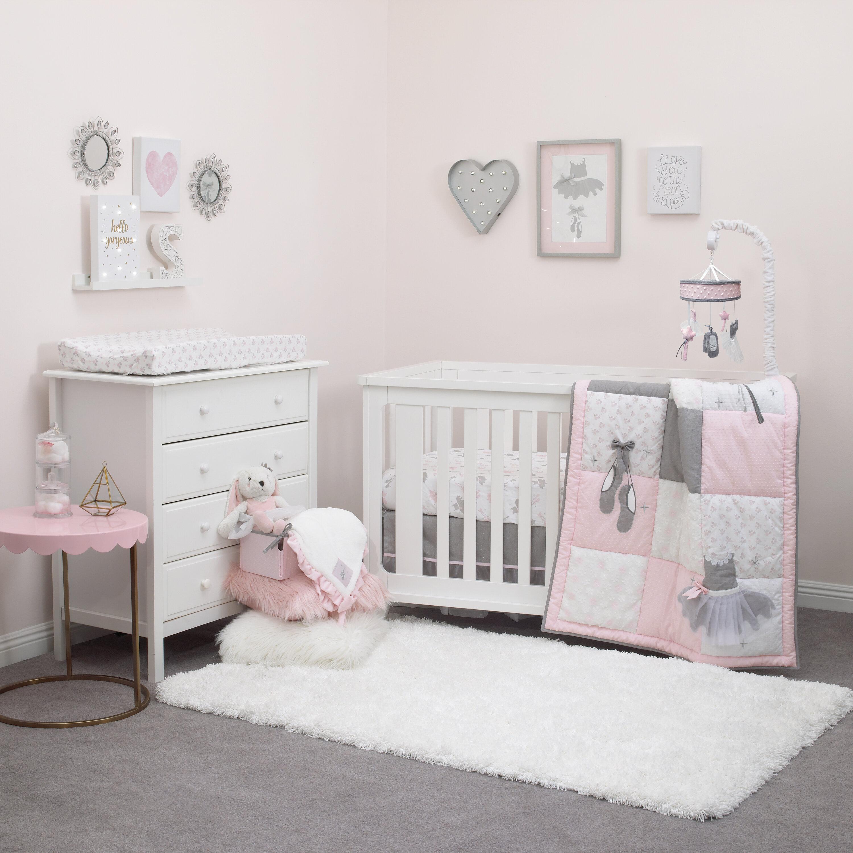 45c8b047e29f Harriet Bee Kiaan 4 Piece Crib Bedding Set   Reviews