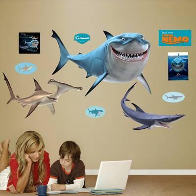 Fathead Disney Finding Nemo Sharks Wall Decal Wayfair