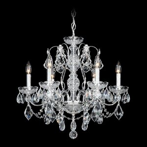 Schonbek chandeliers youll love wayfair century 6 light candle style chandelier by schonbek aloadofball Image collections