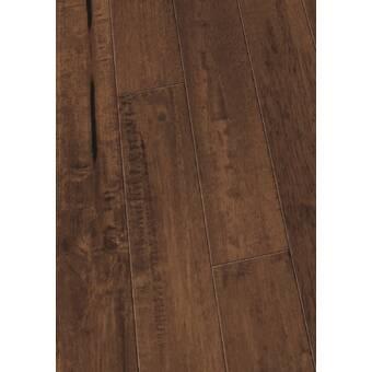 4 Solid Hevea Hardwood Flooring In Sed Coconut Husk