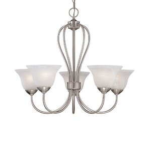 Greenport 5-Light Shaded Chandelier
