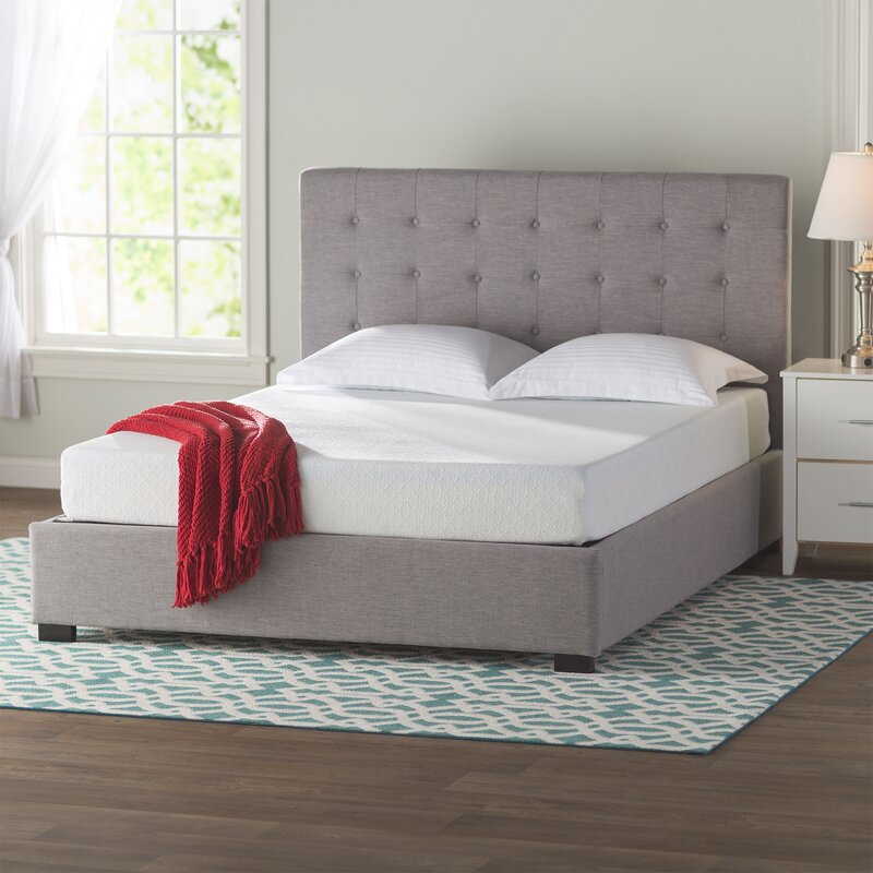 wayfair sleep firm gel memory foam mattress reviews birch lane. Black Bedroom Furniture Sets. Home Design Ideas