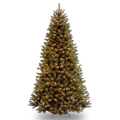Green Spruce Artificial Christmas Tree with Clear Lights with Stand - National Tree Co. Nordic Green Spruce Artificial Christmas Tree With