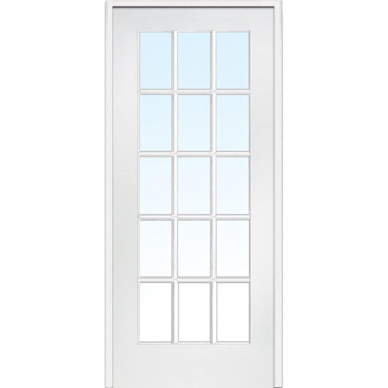 MDF Primed Interior French Door  sc 1 st  Wayfair & Verona Home Design MDF Primed Interior French Door \u0026 Reviews   Wayfair