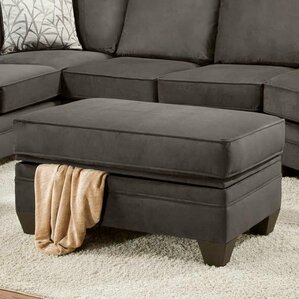 Cupertino Storage Ottoman by Chelsea Home