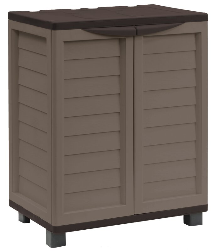 Outdoor Pool Storage Cabinet | Wayfair