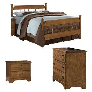 Creek Side Panel Configurable Bedroom Set