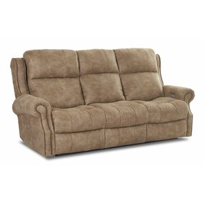Defiance Reclining Sofa with Headrest and Lu..