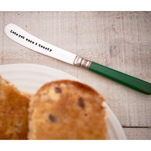 Lets Get Warm & Toasty Butter Knife