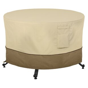Donahue Round Durable And Water Resistant Outdoor Fire Pit Cover