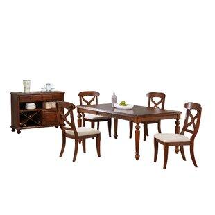 Lockwood 6 Piece Solid Wood Dining Set