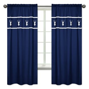 Coral And Blue Curtains | Wayfair