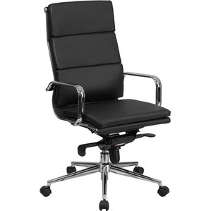 Leather Office Chairs You\'ll Love | Wayfair