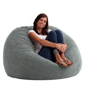 Superior Large Bean Bag Chairs Youu0027ll Love | Wayfair