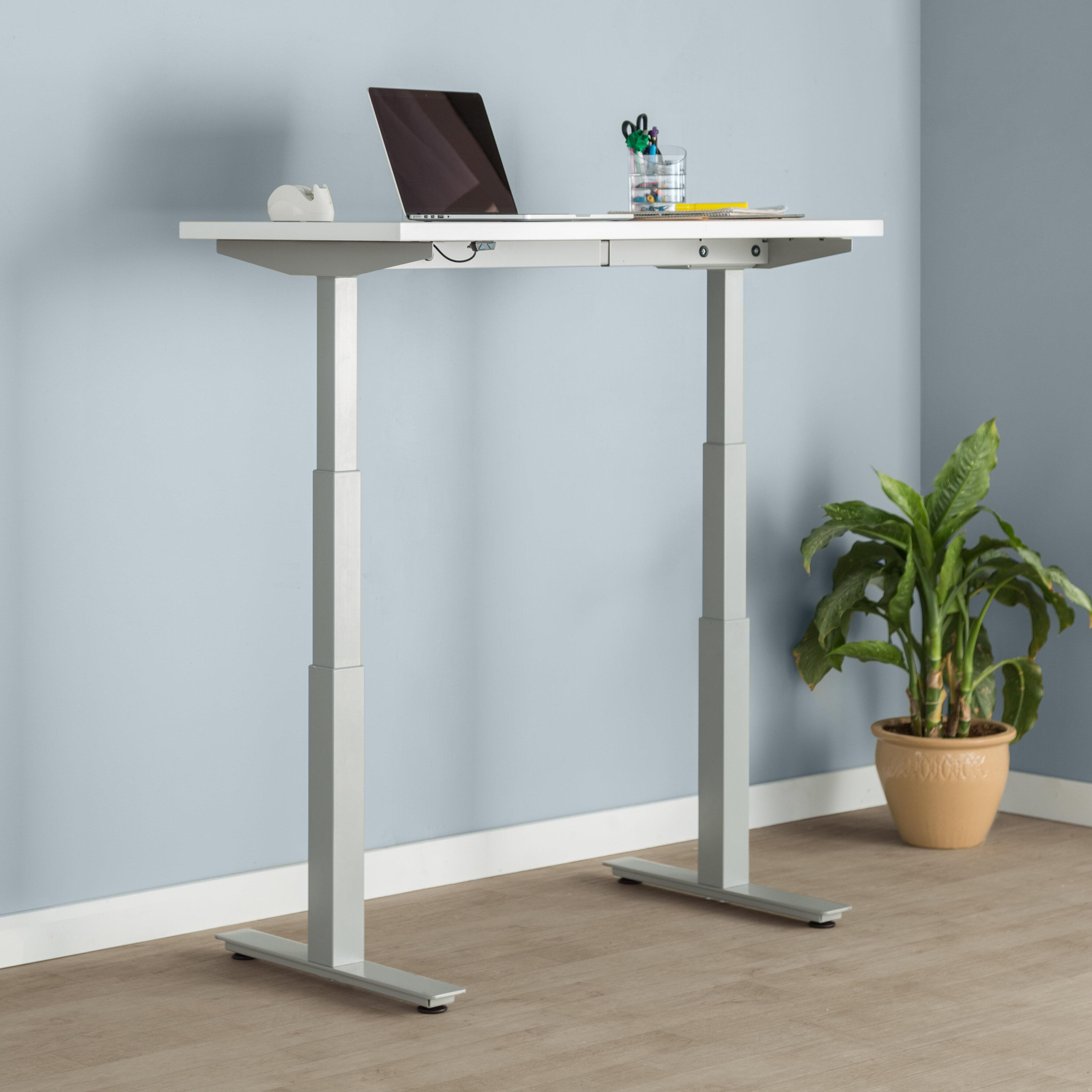 Trendway Express Height Adjustable Standing Desk | Wayfair