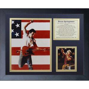 'Bruce Springsteen' Framed Memorabilia