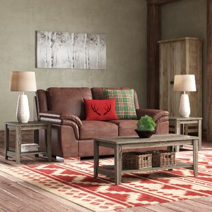 balderston 3 piece coffee table set - Living Room Table Sets